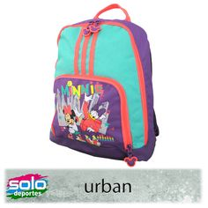 huge selection of 19ecc a2fae Mochila Disney Verde Lila Naranja Fluo Marca  Adidas 100030W42047001   229,00 (U S 47,01)