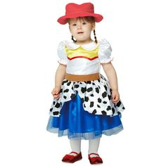 Girls jessie the cowgirl toy story costume Jessie Toy Story Costume, Jessie Costumes, Toy Story Costumes, Toddler Costumes, Cute Costumes, Baby Costumes, Halloween Costumes, Toy Story Kostüm, Toy Story Baby