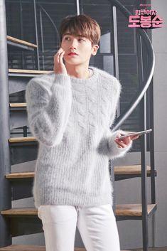 Strong Woman Do Bong Soon Fashion: CEO Ahn Min Hyuk – Eukybear ♥ Dramas Korean Drama Movies, Korean Actors, Strong Girls, Strong Women, Do Bong Soon Fashion, Park Hyungsik Strong Woman, Ahn Min Hyuk, W Two Worlds, Park Bo Young