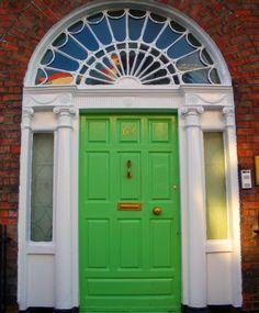 green door - green
