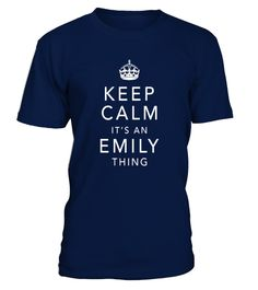 """# Keep Calm It's An Emily Thing First Name Gift T-Shirt .  Special Offer, not available in shops      Comes in a variety of styles and colours      Buy yours now before it is too late!      Secured payment via Visa / Mastercard / Amex / PayPal      How to place an order            Choose the model from the drop-down menu      Click on """"Buy it now""""      Choose the size and the quantity      Add your delivery address and bank details      And that's it!      Tags: Perfect for those seeking…"""