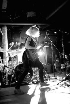 The Joy Formidable -- Clarks Originals tour: she is so fucking cool
