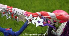 decorated bike streamers - Google Search