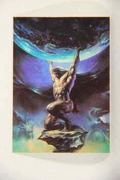 L010282 Boris Vallejo 1991 Trading Card / Atlas - 1988 - Card #85 / ARTWORK