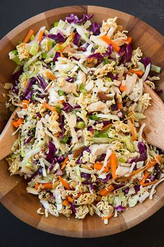 Asian Ramen Chicken Chopped Salad | Cooking Classy