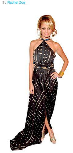 Nicole Richie styled by Rachel Zoe