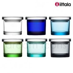 Iittala Glass Jars