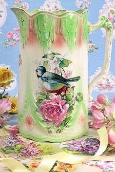 Gorgeous antique pitcher