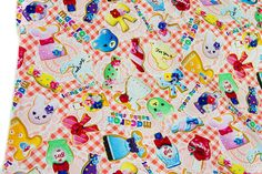 50cm*110cm Japanese Kokka Patchwork Quilting  Fabric Textile For Sewing  Cotton Fabric Icing cookie  A-in Fabric from Home & Garden on Aliexpress.com | Alibaba Group