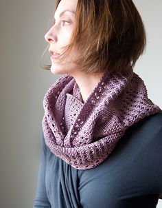 Ravelry: Canaletto Cowl pattern by Megan Goodacre (Aran)
