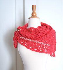 Lady Mary's triangle scarf