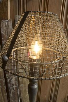Hardware Cloth Lamp Barn Lighting, Hardware, Ceiling Lights, Clothes, Home Decor, Outfits, Clothing, Decoration Home, Room Decor
