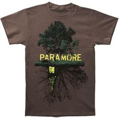 Paramore band tee, bury the castle <3