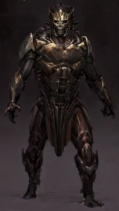 """Concept art from Marvel's """"Thor: The Dark World"""". Fantasy Armor, Dark Fantasy Art, Fantasy Samurai, Armor Concept, Concept Art, Fantasy Character Design, Character Art, Medieval, Knight Art"""