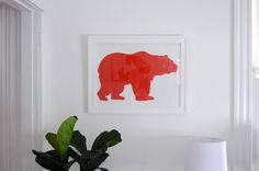 DIY Animal Silhouette Art by emily katherine may, via Flickr