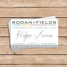 Make Your Own Rodan And Fields Business Card RF Pinterest - Rodan and fields business card template