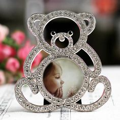 Cute Mini Animal Photo Frame Lovely Bear Picture Frame Small Gifts Home Decor Item Kids Photo Frames Baby Picture Frame