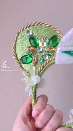 Diy Disney Ears, Disney Mickey Ears, Disney Hair, Mickey Mouse, Princess Tiana Costume, Frog Princess, Tiana Disney, Disneyland Ears, Princesa Tiana