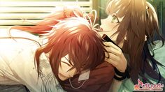 Enomoto Mineo and Hoshino Ichika 【Collar×Malice】 Anime Kiss, Anime Manga, Code Realize, Anime Stories, Anime Watch, Under The Moon, Diabolik Lovers, Couple Art, Mystic Messenger