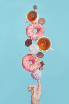 art direction | coffee + donuts