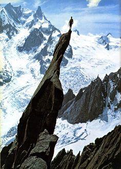 Vintage climbing photo
