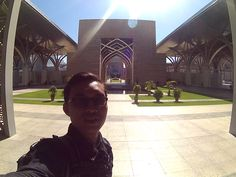 this photo was taken on jan 2016 during my ride to thailand - Masjid Besi Putrajaya