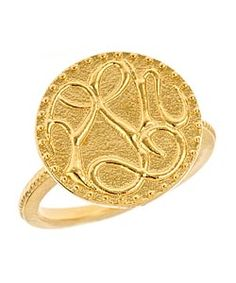 Peace, Love, Happiness Ring...so sweet