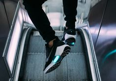 #wantoftheday The self-lacing Nike HyperAdapt 1.0