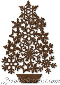 Snowflack Christmas Tree, Scroll Saw Patterns :: Holidays - Scroll Saw Patterns Free, Scroll Pattern, Wood Patterns, Cross Patterns, Wood Crafts, Christmas Crafts, Christmas Decorations, Christmas Ornaments, Holiday Decor