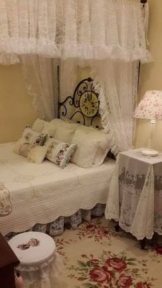 Fairy Tale Like Shabby Chic Bedroom.