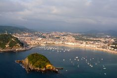 Overlooking San Sebastian by Sriram V on 500px
