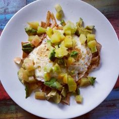 Heart Healthy Baked Chilaquiles by Denice Hynd!