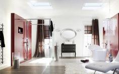 Draperii si perdele living Monte Carlo Monte Carlo, Oversized Mirror, Divider, Flooring, Furniture, Design, Home Decor, Shades Blinds, Solar Shades