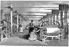 If a thread breaks or the machine stops working, the children have to duck under, refasten the broken thread, duck back out in seconds because the loom was restarted to avoid penalty to themselves and the operator.