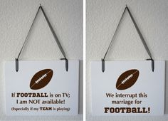 Man Cave Football Signs : Monday night football mural used on diy network s man caves