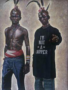 Culturas Híbridas - Relações entre Etiópia e a cultura norte-americana por Kajahl Benes