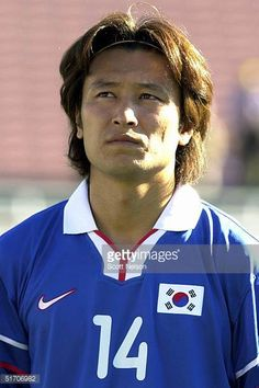 DoKeun Kim from South Korea poses during the Gold Cup soccer tournament in Pasadena California 02 February 2002 AFP PHOTO/Scott NELSON