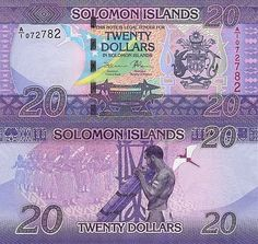 Solomon Islands 20 Dollars 2017