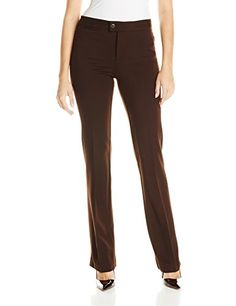 NYDJ Women's Ponte Trouser Pant -- To view further for this item, visit the image link.