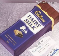 A block of Cadbury Chocolate...or is it?