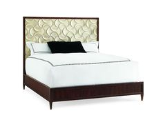 Caracole Bedroom Silver Lining CON KINBED 005 Norwood Furniture