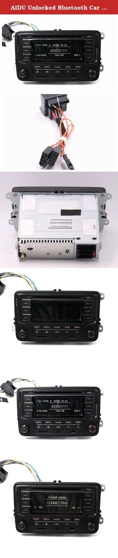 AIDU Unlocked Bluetooth Car Radio CD Player with Canbus Adapter for Volkswagen. We will ship your order via DHL and ship with 24 hours, except on weekends or national holidays.it takes only 5-7 days for your parcel to arrive. Item Name: RCN210 Special Features:Built in Bluetooth, Radio Tuner,CD Player,FM Transmitter,MP3 Players Display Size: 2.5 Item Size: 215mm*180mm*130mm Voltage: 12V Output Power: 45W Language: English Color: Black Material Type: Metal Item Weight: 2.5kg Compatible...