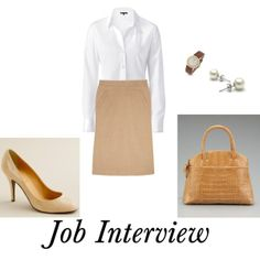 Simple and classy are always a great choice for an #interview outfit.