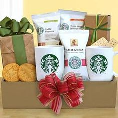 Deluxe Starbucks Recharge and Renew  $49.99 or great Bday present for my sis!