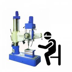 Imported All Gear Radial Drill Machine - Z3132X42