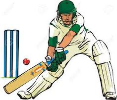 Cricket is a bat ball game  played between two teams of 11 players each side.A formal game of cricket can last for few hours to several days.