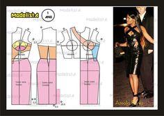 ModelistA Azealia Banks dress pattern