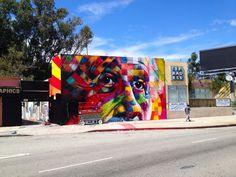 CJWHO ™ (Brazilian Artist Eduardo Kobra hits LA We're...)