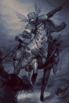 Armored Centaur in battle.