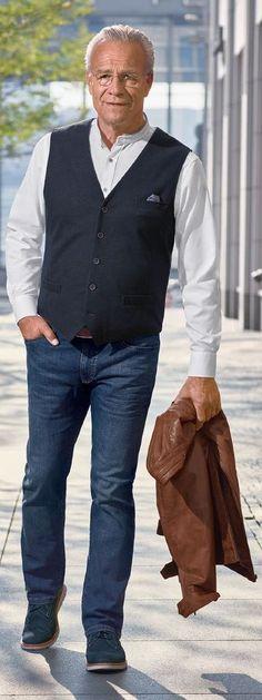 Olivfarbene Ganzjahres Jacke | Jacken, Walbusch, Herren mode